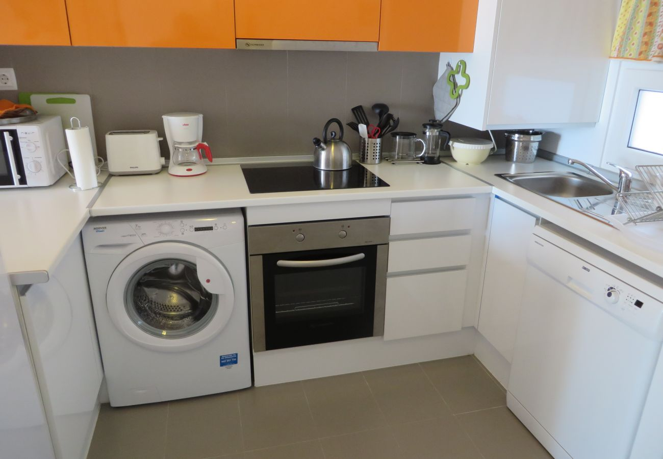 Apartment's kitchen with modern appliances - Resort Choice