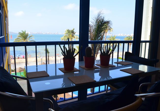 Lovely Beach View Dining Room