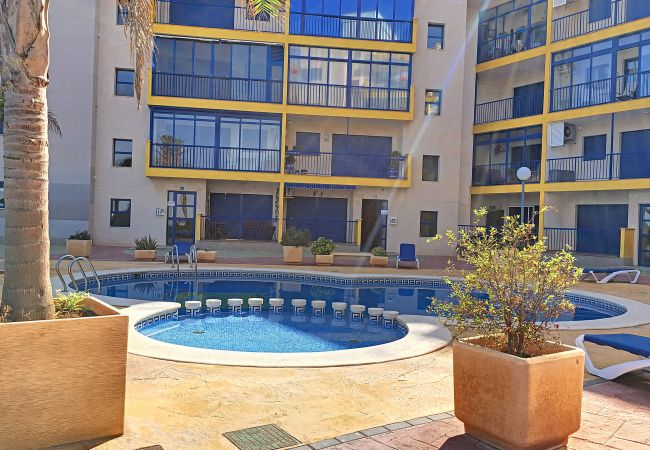 Lovely Swimming Pool of Verdemar Apartment