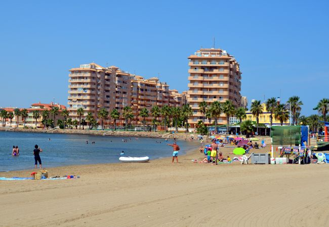 La Manga del Mar Menor Beach