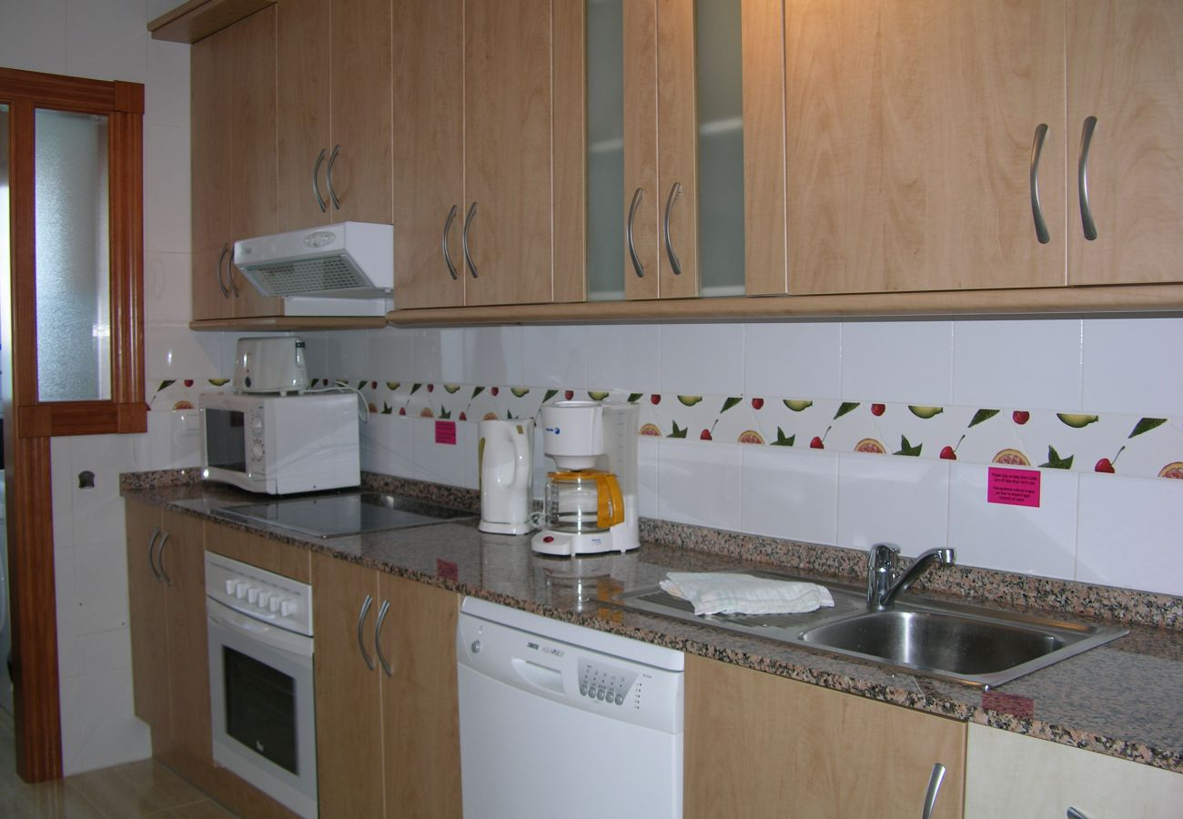 Fully Equipped Kitchen of Seychelles Apartment