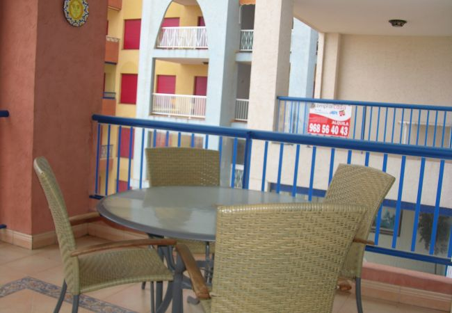 Beautiful Balcony of Verdemar Apartment