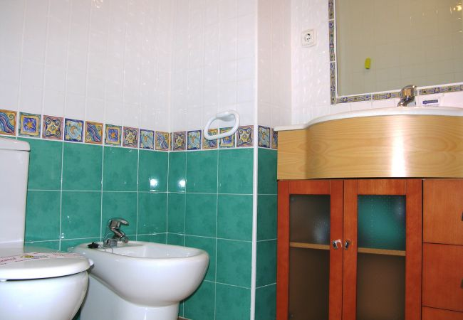 Fully Equipped Bathroom of Verdemar Apartment