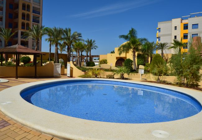 Beautiful Swimming Pool of Verdemar Apartment