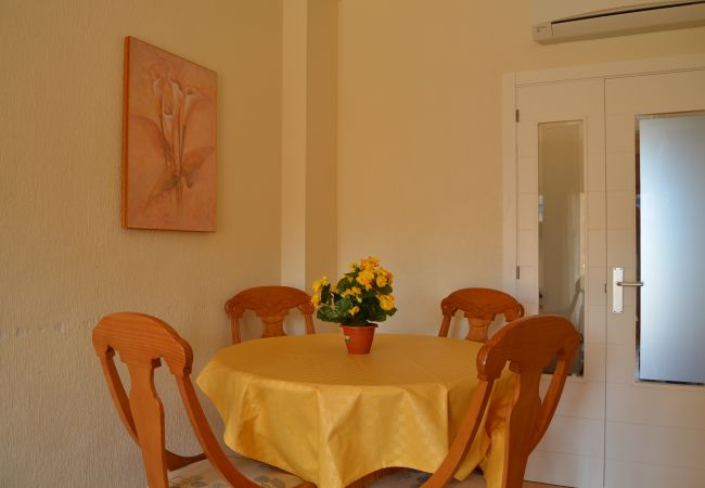 Beautiful Dining Room of Verdemar Apartment