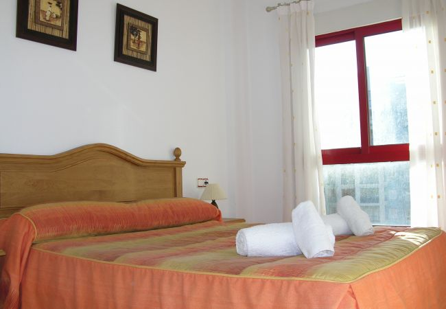 Lovely Bedroom of Verdemar Apartment