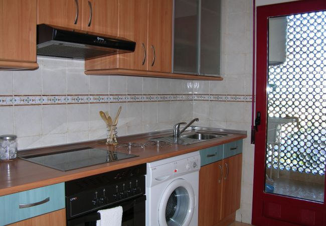 Fully Equipped Kitchen of Verdemar Apartment
