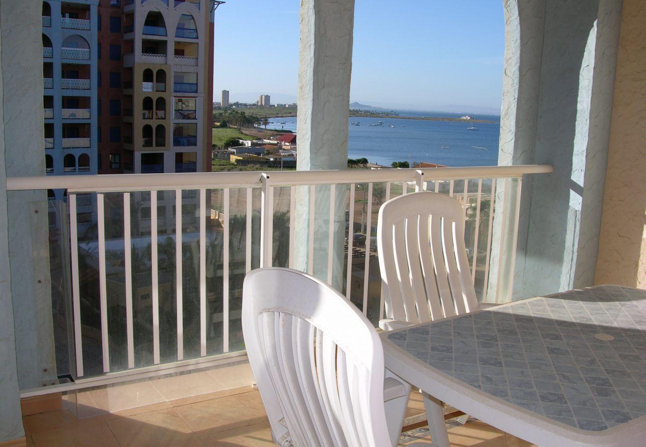Beautiful Balcony of Verdemar Apartment