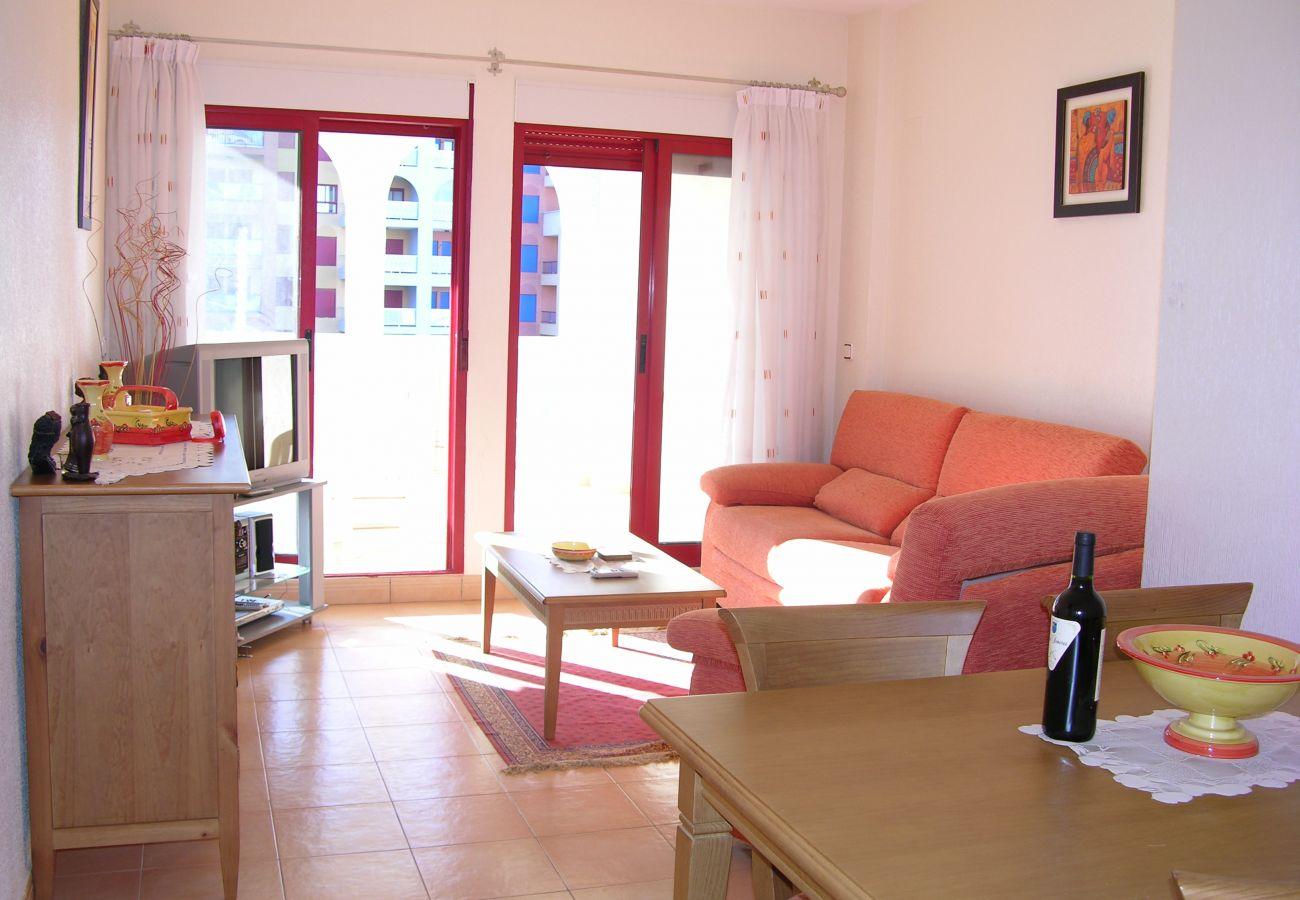 Beautiful Living Room of Verdemar Apartment