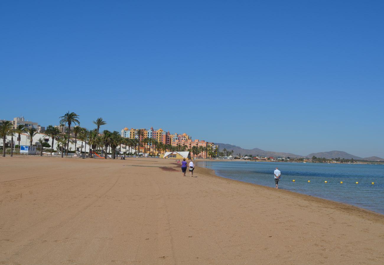 Beach with play area and beautiful views - Resort Choice