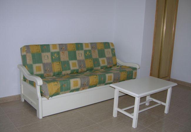 Living room with comfortable sofa - Resort Choice
