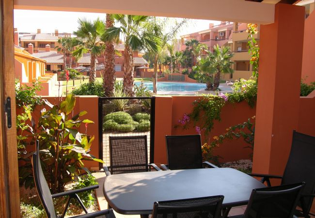 Terrace with private patio and seating area tio relax - Resort  Choice