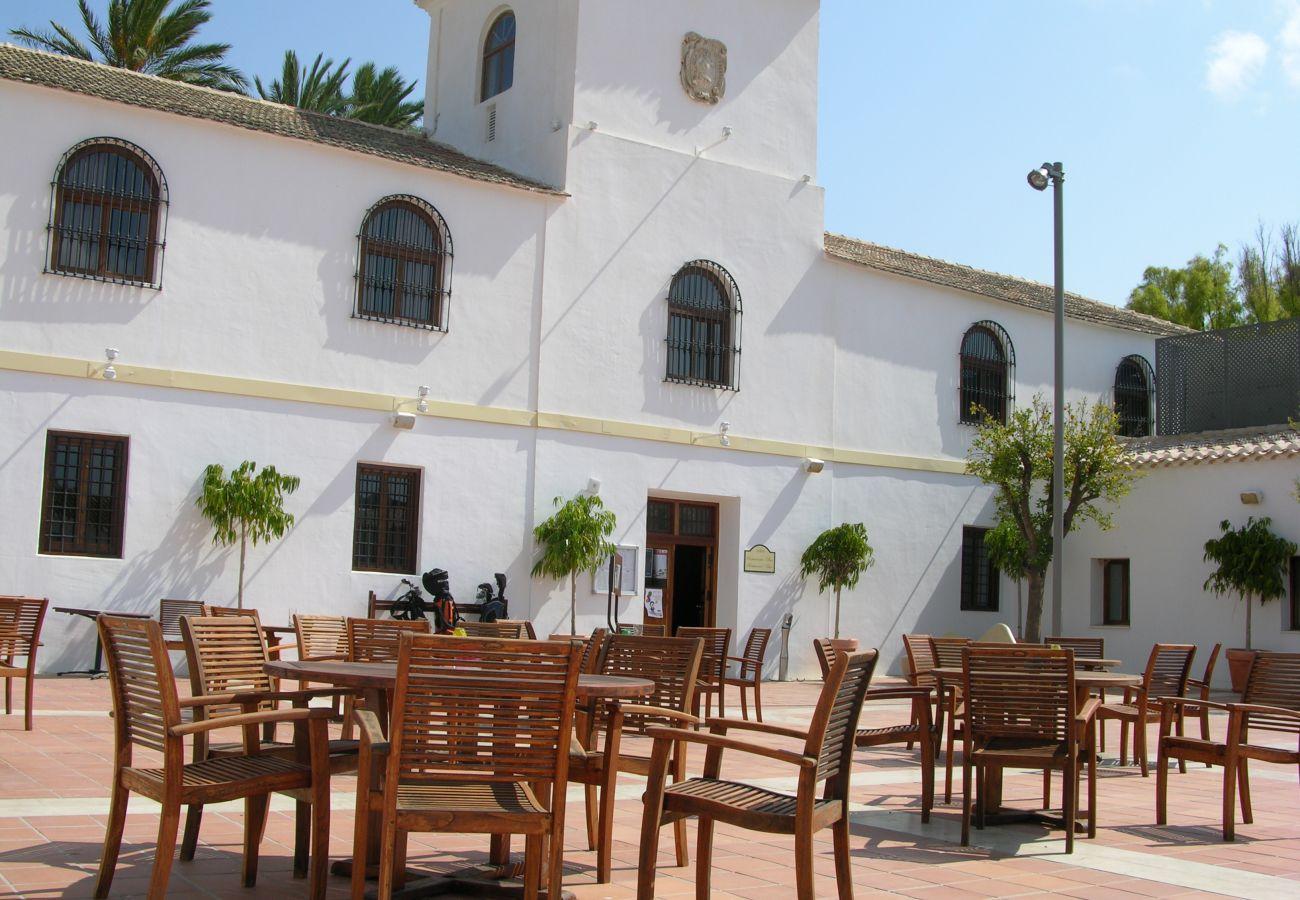 Beautiful public area of Hacienda Riquelme Golf Resort