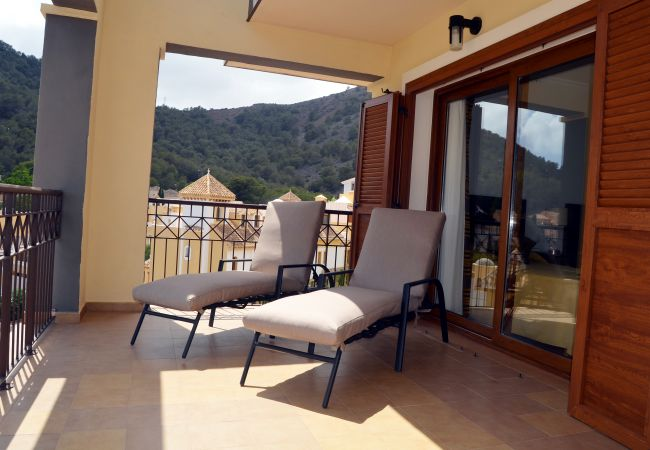 Large terrace with relaxing chairs and beautiful views -  Resort Choice