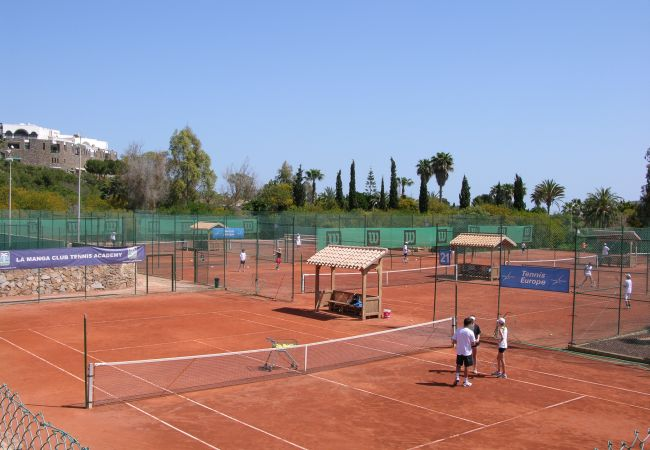Tennis Court in La Manga Club - Resort Choice