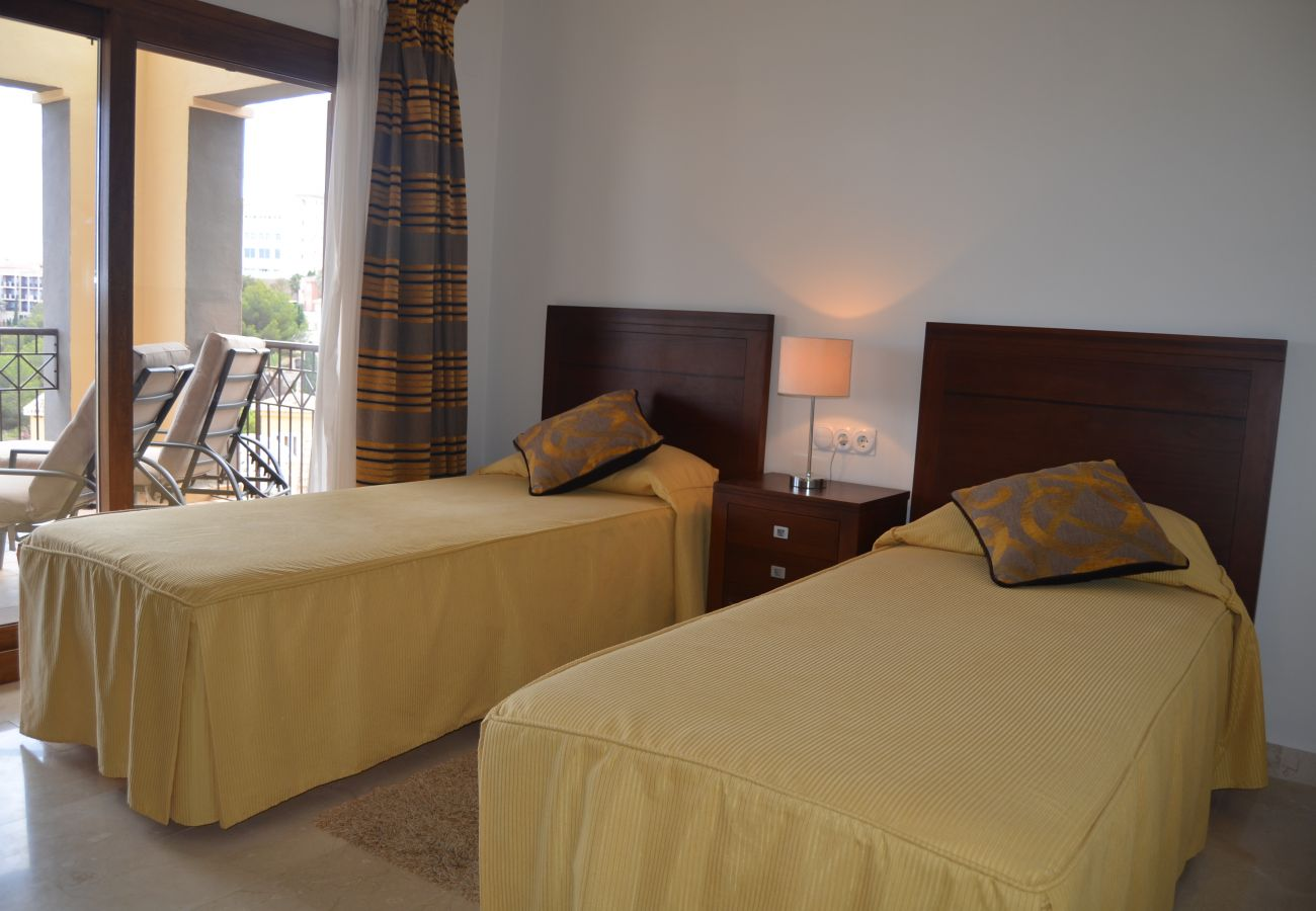 2 single bed bedroom in apartment rental - Resort Choice