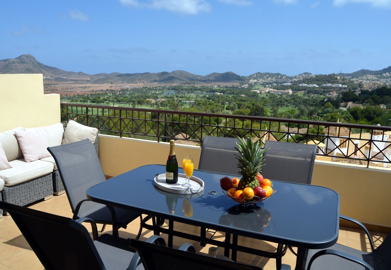 Open balcony with beautiful views and modern sitting arrangements - Resort Choice