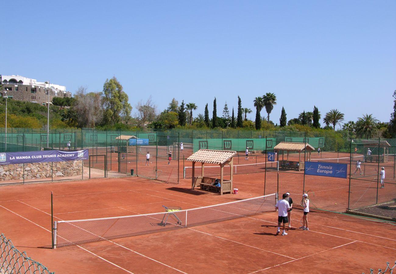 Tennis Court in La Manga Club - Resort Choice