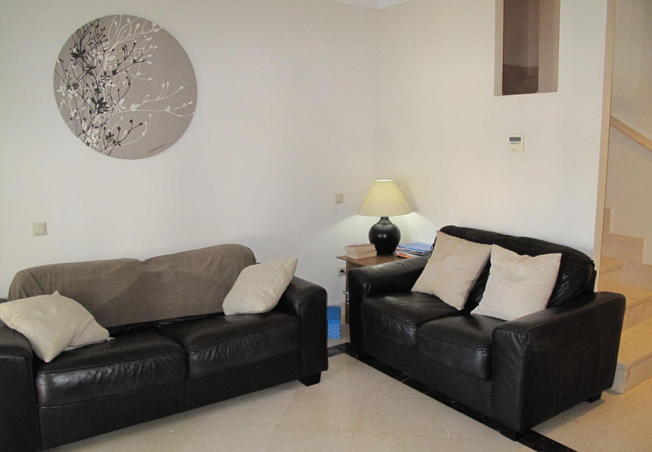 Lovely Living Room of Roda Golf Resort House