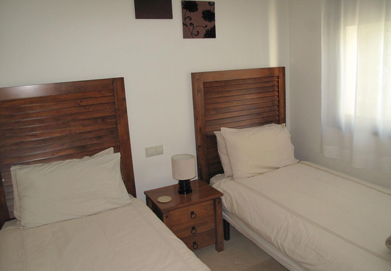 Lovely Bedroom of Roda Golf Resort House