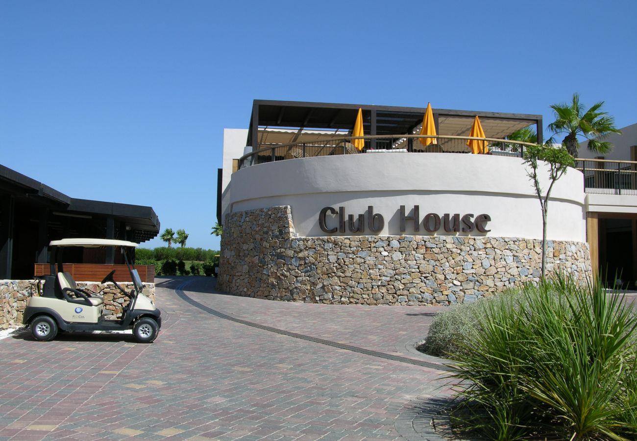 Lovely Club House of Roda Golf Resort House