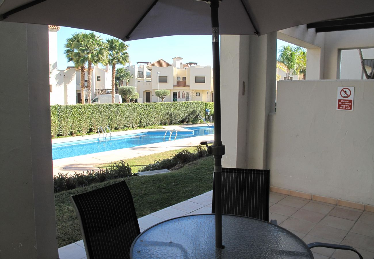 Beautiful Terrace of Roda Golf Resort House