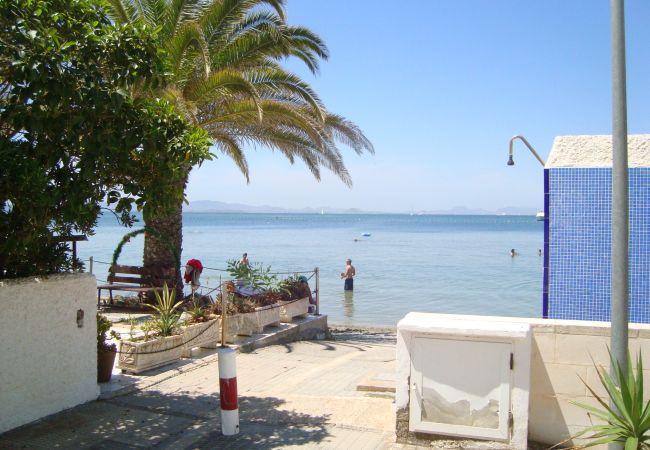 Sea view house located in La Manga del Mar Menor