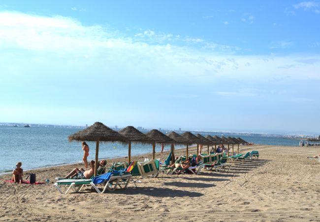La Manga del Mar Menor beach for relaxation and for enjoy