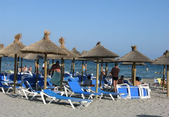 Loz Alcázares beaches with relaxation area - Resort Choice