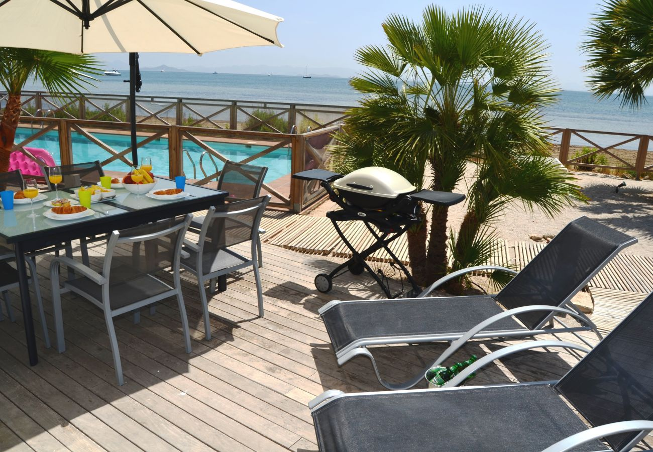 Terrace with well equipped sitting and relaxation area - Resort Choice