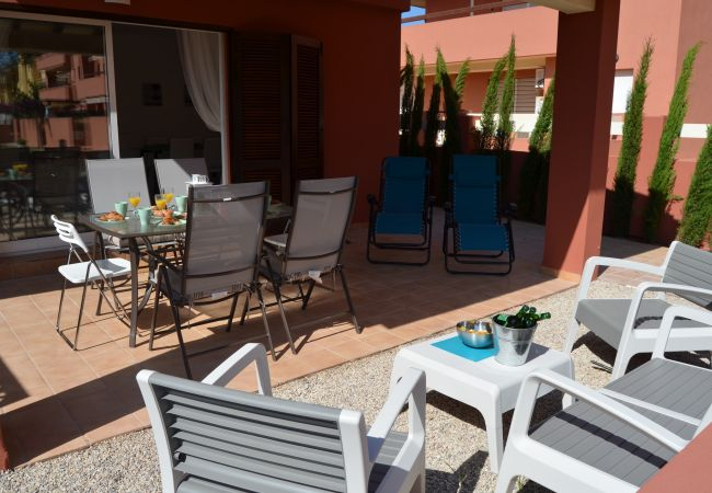 Large and well equipped terrace - Resort Choice