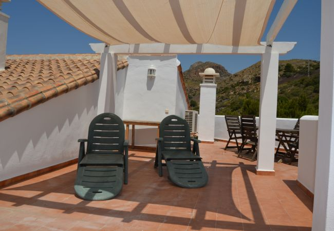 Spacious roof terrace with relaxation area - Resort Choice