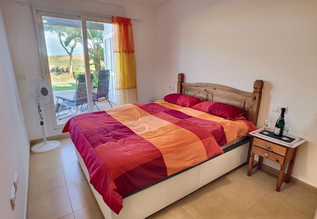 Beautiful double bedroom at Las Terrazas Andrea apartment