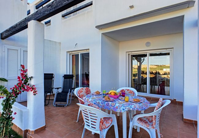 Spacious and beautiful terrace at Las Terrazas Andrea apartment