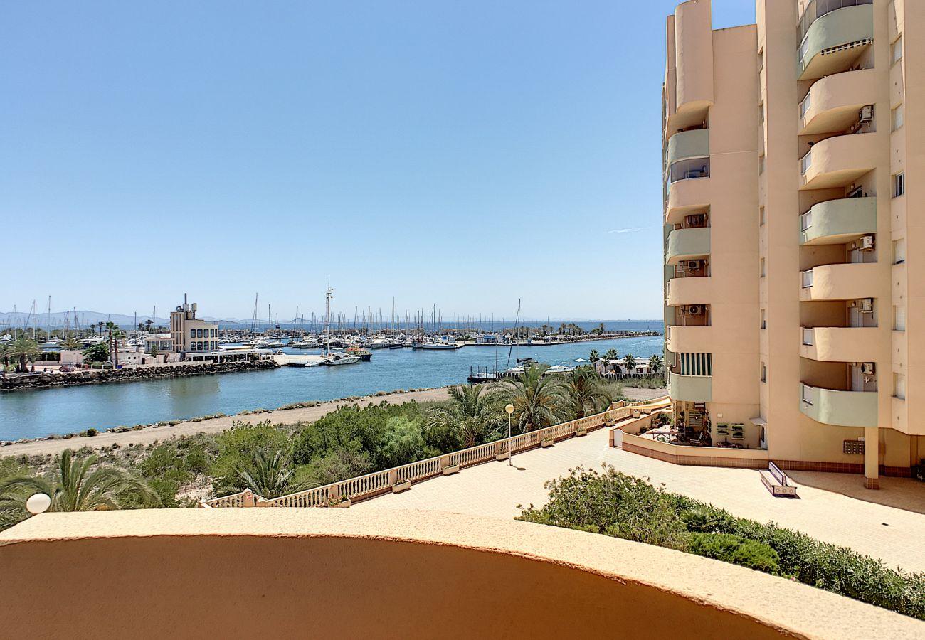 Apartment in La Manga del Mar Menor - Los Miradores del Puerto - 4009