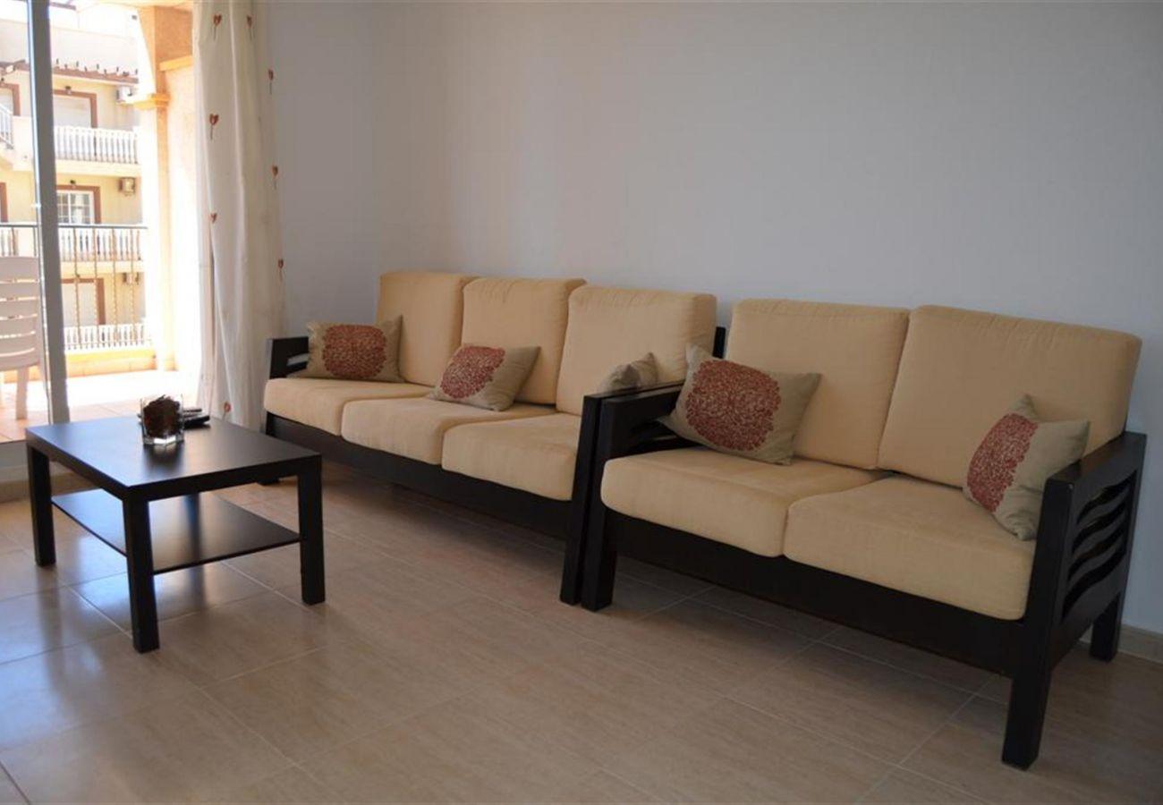 Апартаменты на Mar de Cristal - Ribera Beach 3 - 4508