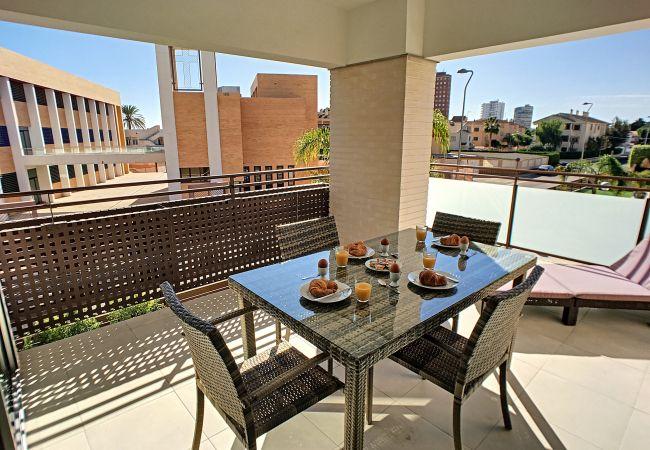 Апартаменты на Santiago de la Ribera - El Mirador de La Ribera - 0109