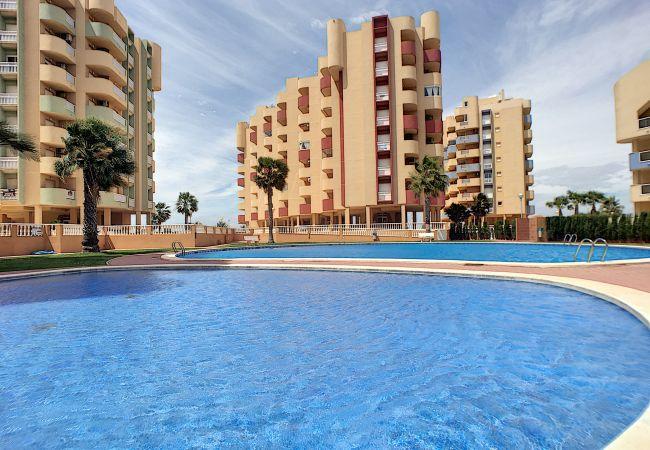 Апартаменты на La Manga del Mar Menor - Los Miradores del Puerto - DK
