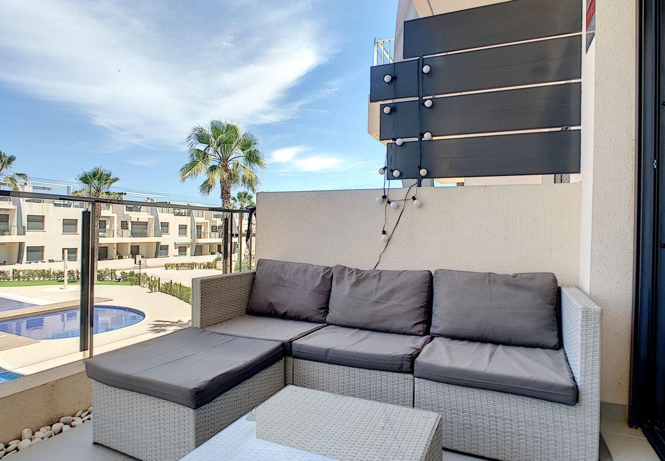 Апартаменты на Pilar de la Horadada - Playa Elisa Bay - Michalina